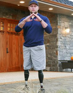 Help  and other catastrophically injured veterans live more independent lives by donating to OurBravest.org. Your donation will help build a Smart Home tailored to the specific injuries of each severely wounded veteran like Enlist. Go to ourbravest.org to find out more.