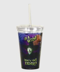Look what I found on #zulily! 'I'm a Witch' Tumbler by The Wizard of Oz #zulilyfinds