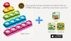 Sugar Pop Ribbons Reviews and Giveaways: Tiggly introduces a revolutionary new way for kids to learn math & a special giveaway