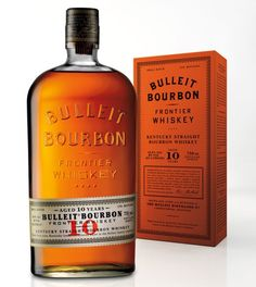 Bulleit Kentucky Bourbon - Great bourbon, always a good choice. Bourbon Whiskey, Scotch Whisky, Bulleit Bourbon, Good Whiskey, Distilling Alcohol, Bourbon Brands, Bourbon Kentucky, Small Batch Bourbon, Alcohol Bottles
