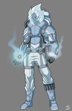 Mr. Freeze Redesign commission by phil-cho on DeviantArt
