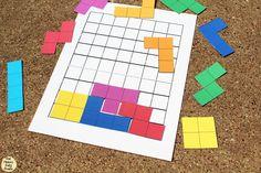 This Tetris printable game will bring back nostalgia for your favorite childhood video game. Print, cut, and try to fit as many pieces in the grid.