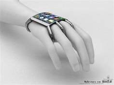 Apple iPhone 5 Concept With Flexible Display Could Be Fantastic In The Future - spiderman