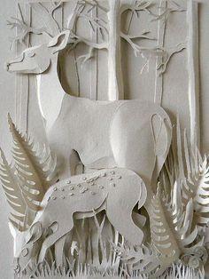 papercut Helen Musselwhite
