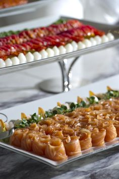 Jumeirah at Etihad Towers Hotel - Abu Dhabi Restaurants - Salmon - Brunch