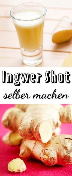 Ingwer Shot ist angesagt, gesund aber leider auch teuer. So kannst du den Immun-Booster für wenig Geld selber machen.