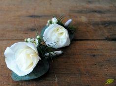 Prendidos rosa blanca Mayula flores