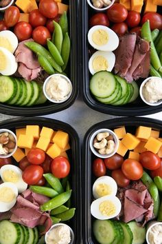 Protein Snack Pack – Lunch Meal Prep – The Forked Spoon Protein Snack Pack – Mittagessen Mahlzeit Prep – The Forked Spoon Lunch Snacks, Clean Eating Snacks, Lunch Recipes, Healthy Dinner Recipes, Keto Recipes, Drink Recipes, Keto Snacks, Eating Habits, Lunch Meal Prep