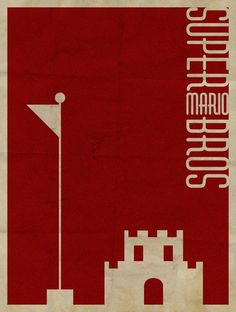 Super Mario Bros Minimalist Poster by revoltersds on deviantART - Gamer House Ideas 2019 - 2020 Super Mario Bros, Mundo Super Mario, Super Mario Brothers, Retro Video Games, Video Game Art, Mario Room, Idee Baby Shower, Nerd, Mario And Luigi