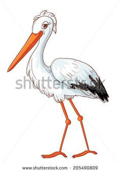 Stork Stock Illustrations & Cartoons | Shutterstock