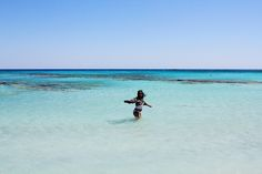 Travel: Elafonissi Beach, Crete and Beach Outfit Crete, Diaries, Travelling, Train, Sea, Places, Water, Outdoor, Outfits