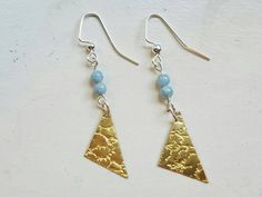 Check out this item in my Etsy shop https://www.etsy.com/listing/469934935/textured-brass-earrings-genuine