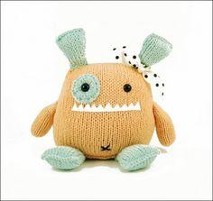 Danger Crafts Penelope Monster Stuffed Toy PDF Knitting Pattern