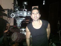Rodrigo Otazu on the Set of Lady Gaga