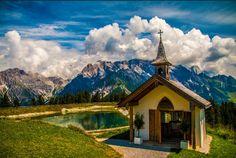 Dienten, Kapelle am Steinbock Alm