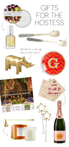 Gift Guide :: For The Hostess