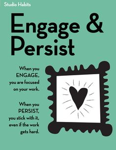 Engage and Persist                                                                                                                                                                                 More