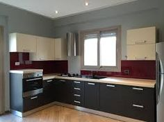 cucina con rivestimento vetro colorato - Αναζήτηση Google ...