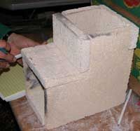 Making Light Weight Refractory Ceramic From Perlite and Potter's Clay