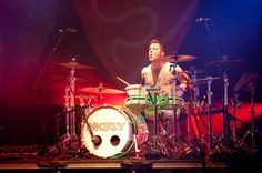 Harry Judd of McFly performs on the main stage headlining day 3 of Summer Sundae Festival at De Montfort Hall And Gardens on August 14 2011 in...