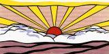 Sunrise, c.1965 高画質プリント : ロイ・リキテンシュタイン