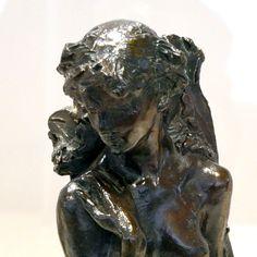 La Jeune Fille à la gerbe par Camille CLAUDEL (1864-1943) vers 1886. Bronze, Fonte par Coubertin en 1983. Musée Camille Claudel à Nogent-sur-Seine. Photo : Hervé Leyrit ©