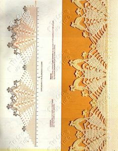 How to have impeccables sides on your crochet work! - make a row of slst then turn sides and just sc all the way! Crochet Boarders, Crochet Edging Patterns, Crochet Lace Edging, Crochet Motifs, Crochet Diagram, Crochet Chart, Thread Crochet, Crochet Trim, Filet Crochet