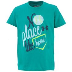 Show off her love of softball!  From Under Armour, sizes S-XL.