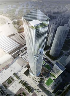 Shenzhen North Railway Station Towers - HPP