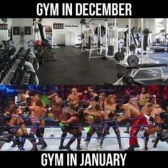 New Year's Resolutions Turn Gyms Into Arenas