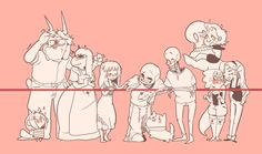 MY SHIPS XD except for Mettaton and Blooky, of course. They're cousins...