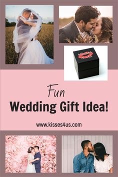Keep couples kissing for a lifetime with Kisses 4 Us! Wedding Shower Gifts, Unique Wedding Gifts, Wedding Gifts For Couples, Wedding Showers, Bridal Shower, Romantic Photos, Romantic Gifts, Romantic Ideas, Healthy Relationship Tips