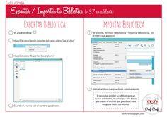 Craf Craf: Guía Rápida - Exportar / Importar tu Biblioteca (v. 3.7 en adelante)Craf Craf