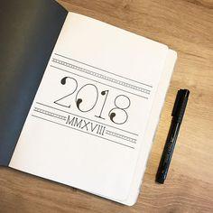 New year ✔️ New notebook ✔️ • • • #bujolove #bujoaddict #bujoinspire #showmeyourplanner #plannergirl #planner #bujojunkies #bulletjournallove #bujocommunity #bulletjournalcommunity #plannercommunity #nuunabybrandbook #bulletjournaling #bulletjournaljunkies #bujosverige #bujosweden #journal #journaling #bulletjournal #bujo #planneraddict #bujospread #bujobeauty #LifebyW #plannergeek #plannerinspiration #bujo2018 #fabercastellpittartistpen #2018 #notebook