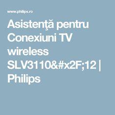 Asistenţă pentru Conexiuni TV wireless SLV3110/12 | Philips