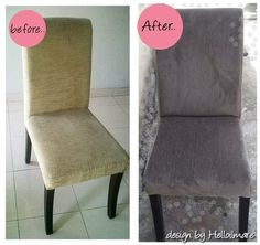 dining chair - reupholstery