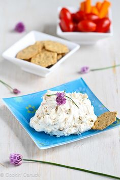 Caramelized Onion & Chive Cream Cheese Recipe | cookincanuck.com by CookinCanuck, via Flickr