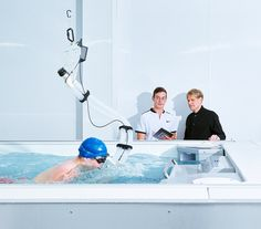 At Apple's exercise lab in Cupertino, an Endless Pools® swimming machine helps them refine and reimagine fitness tracking. Spa Tub, Bath Tubs, Zombie Survival Gear, Apple Watch Fitness, Machine Photo, Swim School, Fitness Brand, Track Workout, Modular Design