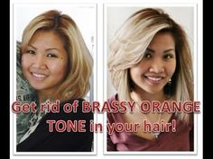 How to Tone Brassy Hair to Cool Tone Blonde Using Wella 12A Frost Ash with a 20 developer, lessening lift while correcting brass color tones.