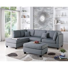 You'll love the Reversible Chaise Sectional at Wayfair - Great Deals on all Furniture products with Free Shipping on most stuff, even the big stuff.
