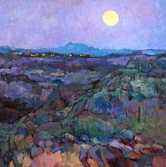 Larisa Aukon   Moon Rise Trail, 2011 (by BoFransson)