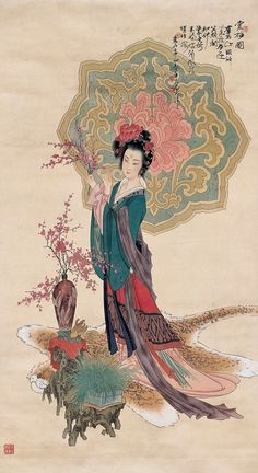 Art - Ancient Chinese Hanfu Fashion by Hua San Chuan (Hwa San-Chiuen)