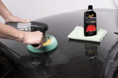 Applying Meguiar's Ultimate Compound