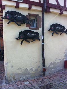 Auf einen Sprung nach Eberbach