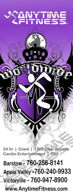 ANYTIME FITNESS BARSTOW * GET YOUR FITNESS ON DAHLINGS =)
