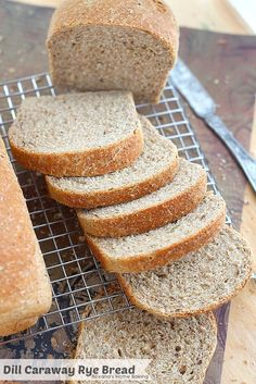 Light and airy, with a soft crust and filled with caraway and dill seeds, this egg free rye bread is just what you need to make delicious deli sandwiches.
