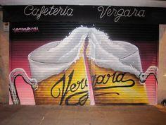 """Cafeteria """"Vergara"""", Madrid."""