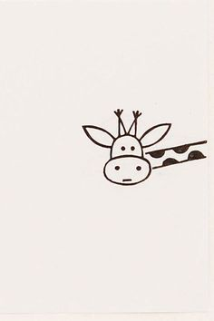 zeichnen Giraffe stamp peekaboo stamp giraffe gift custom rubber stamp hand carved animal stamps kid name stamp Doodle Art Animal carved custom doodle art Gift Giraffe hand Kid peekaboo rubber Stamp stamps Zeichnen Doodle Drawings, Cute Drawings, Funny Easy Drawings, Funny Sketches, Easy Animal Drawings, Drawing Animals, Easy Drawings Of Nature, Easy But Cool Drawings, White Board Drawings