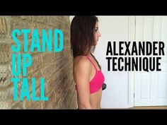 Improve your posture with Alexander Technique - YouTube
