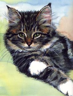 """Boots"" Watercolor by Carol Wells"